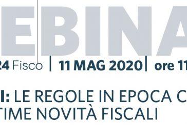 """""""Bilanci: regole in epoca Covid-19 e novità fiscali"""": il webinar dell'Andoc Napoli"""