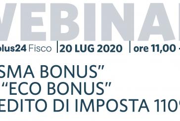 Lunedì (ore 11) il webinar su Sismabonus ed Ecobonus dell'Andoc Napoli