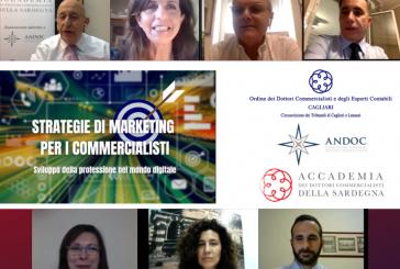 Strategie di marketing per i commercialisti: successo per il webinar organizzato da Andoc Sardegna