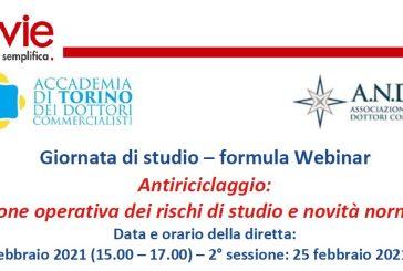 Il 24 e 25 febbraio ANDoC Torino organizza una