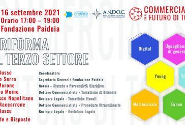 """ANDoC Torino, giovedì 16 settembre il convegno """"La riforma del terzo settore"""""""