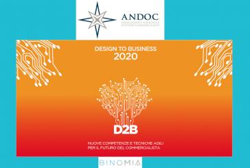 """Professioni, si conclude la prima fase del """"giro d'Italia"""" dell'ANDOC sul business design"""