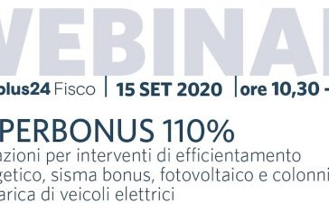 Riprende l'attività formativa dell'Andoc Napoli: il 15 settembre webinar sul Superbonus 110%