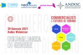 """""""Uguaglianza di genere"""", giovedì 28 gennaio (ore 17) il webinar di ANDOC Torino"""