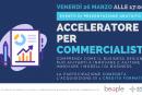 Acceleratore per Commercialisti, presentazione il 26 marzo (ore 17)